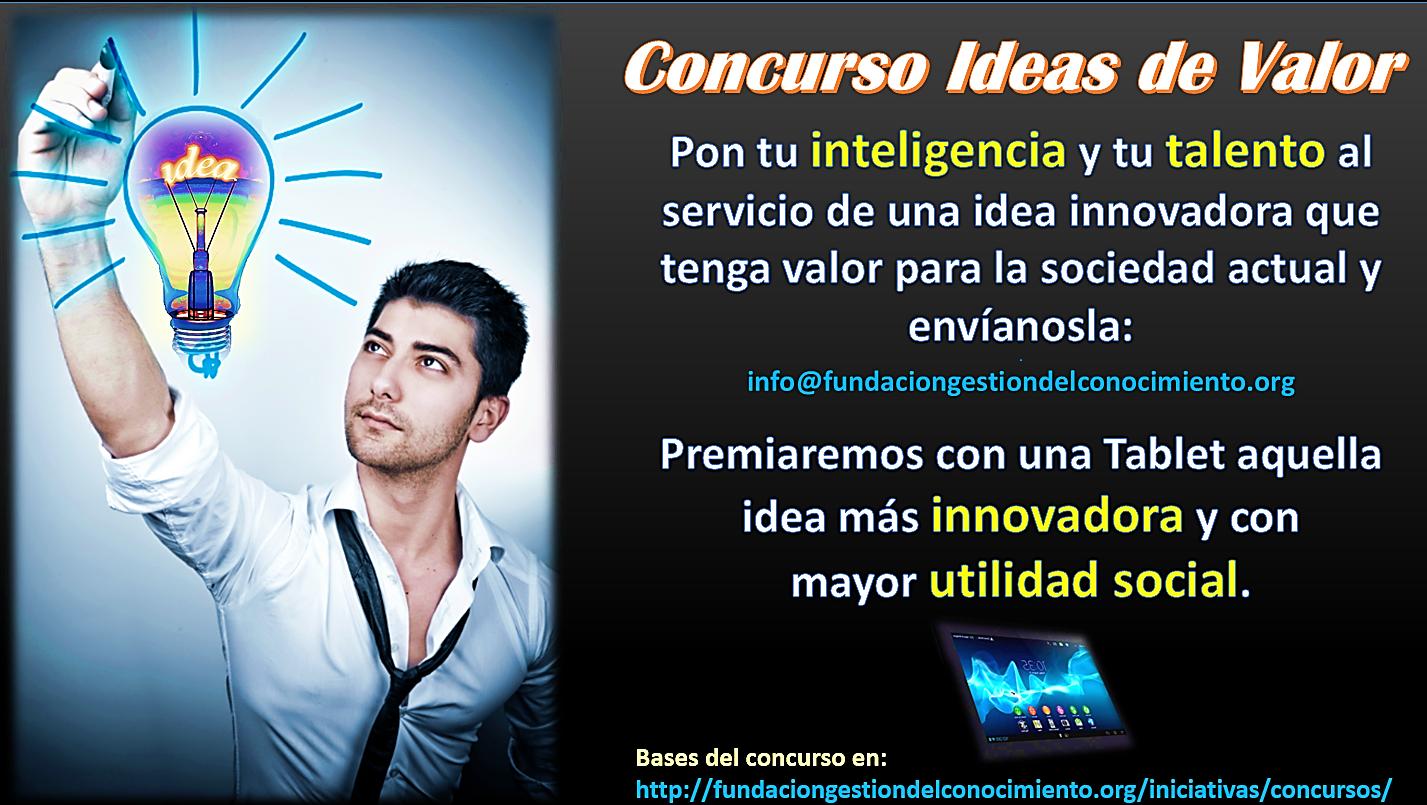 Imagen Concurso de las Ideas de Valor